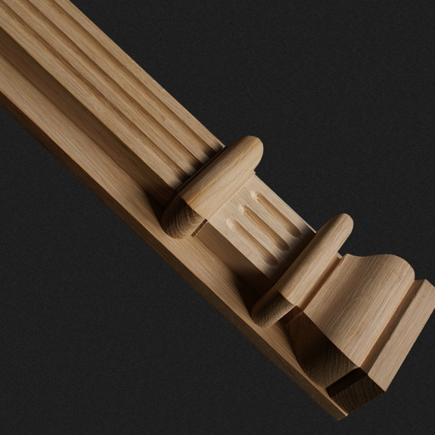 m bel leisten aus holz pilaster aus holz kwasny carvings. Black Bedroom Furniture Sets. Home Design Ideas