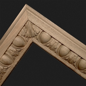 Decorative wooden mouldings for cabinetry and historic woodwork