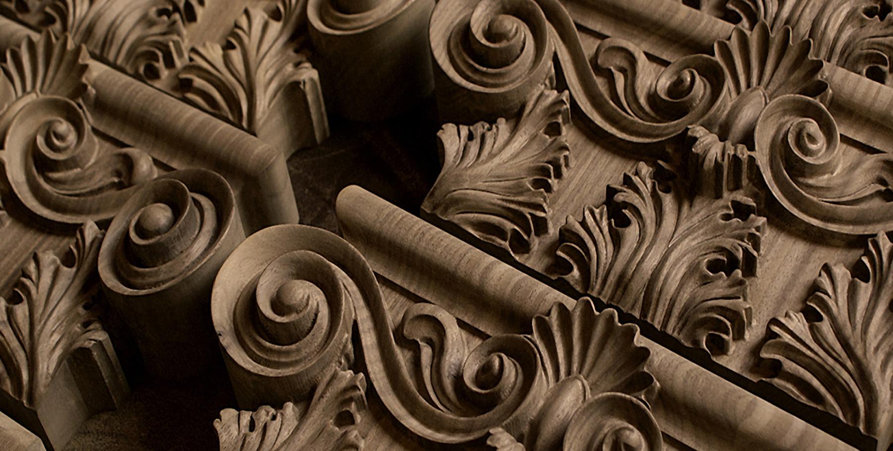 Kwasny carvings drewniane ornamenty architektoniczne