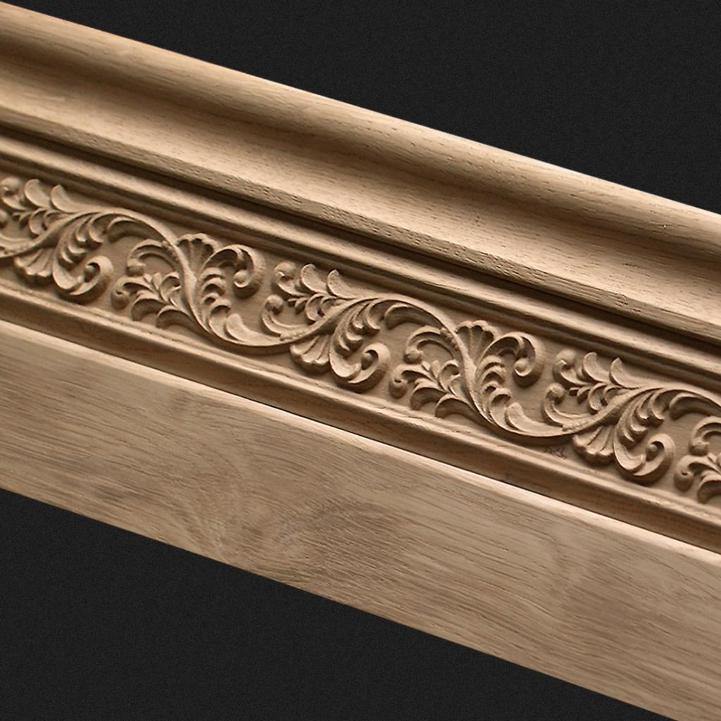 klassische massivholz sockelleisten dekor